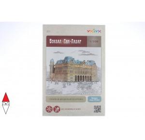 UMBUM, , , PUZZLE 3D UMBUM ARCHITECTURE STAZIONE SAINT LAZARE PARIGI 301