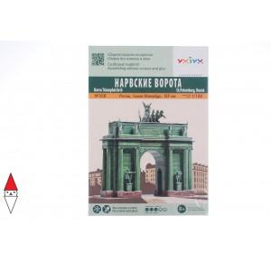 UMBUM, , , PUZZLE 3D UMBUM ARCHITECTURE ARCO TRIONFO NARVAC SAN PIETROBURGO 358