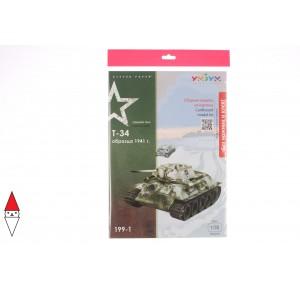 UMBUM, , , PUZZLE 3D UMBUM TANK T-34 199-01