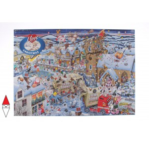 GIBSONS, , , PUZZLE TEMATICO GIBSONS NATALE I LOVE CHRISTMAS 1000 PZ