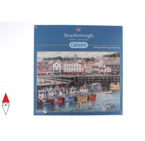 GIBSONS, , , PUZZLE PAESAGGI GIBSONS PORTI SCARBOROUGH 1000 PZ