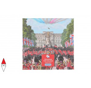 GIBSONS, , , PUZZLE TEMATICO GIBSONS NAZIONI TROOPING THE COLOUR 500 PZ