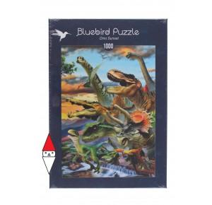 BLUEBIRD, , , PUZZLE ANIMALI BLUEBIRD DINOSAURI DINO SUNSET 1000 PZ