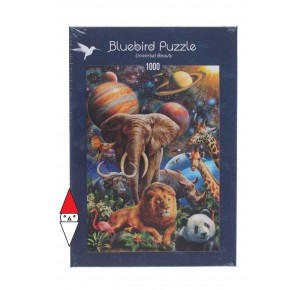 BLUEBIRD, , , PUZZLE ANIMALI BLUEBIRD ANIMALI VARI UNIVERSAL BEAUTY 1000 PZ