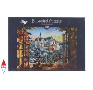 BLUEBIRD, , , PUZZLE EDIFICI BLUEBIRD CASTELLI E PALAZZI MOUNTAIN CASTLE 1000 PZ