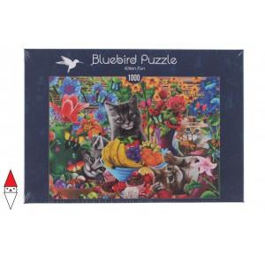 BLUEBIRD, , , PUZZLE ANIMALI BLUEBIRD GATTI KITTEN FUN 1000 PZ