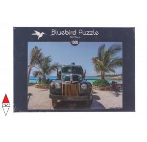 BLUEBIRD, , , PUZZLE MEZZI DI TRASPORTO BLUEBIRD AUTOMOBILI OLD TRUCK 1000 PZ