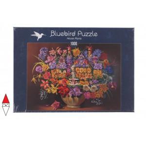 BLUEBIRD, , , PUZZLE TEMATICO BLUEBIRD FIORI E GIARDINI HOUSE PLANTS 1000 PZ