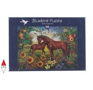 BLUEBIRD, , , PUZZLE ANIMALI BLUEBIRD CAVALLI SPIRIT OF SUMMER 1000 PZ