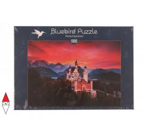 BLUEBIRD, , , PUZZLE EDIFICI BLUEBIRD CASTELLI E PALAZZI NEUSCHWANSTEIN 1000 PZ