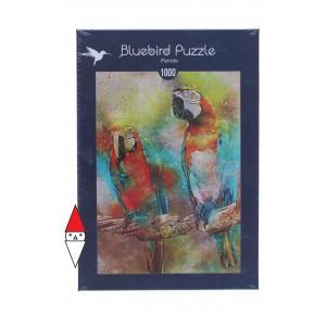BLUEBIRD, , , PUZZLE ANIMALI BLUEBIRD PAPPAGALLI PARROTS 1000 PZ