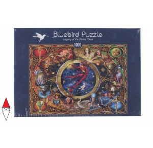 BLUEBIRD, , , PUZZLE GRAFICA BLUEBIRD FANTASY LEGACY OF THE DIVINE TAROT 1000 PZ