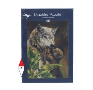 BLUEBIRD, , , PUZZLE ANIMALI BLUEBIRD LUPI PRECIOUS MOMENT 1000 PZ