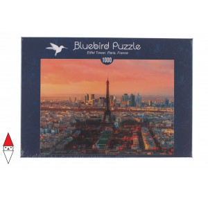 BLUEBIRD, , , PUZZLE PAESAGGI BLUEBIRD CITTA EIFFEL TOWER, PARIGIEUR 1000 PZ
