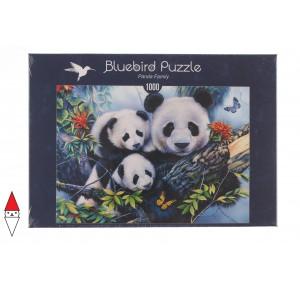 BLUEBIRD, , , PUZZLE ANIMALI BLUEBIRD PANDA PANDA FAMILY 1000 PZ