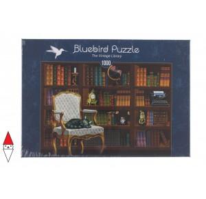 BLUEBIRD, , , PUZZLE OGGETTI BLUEBIRD LIBRERIA THE VINTAGE LIBRARY 1000 PZ