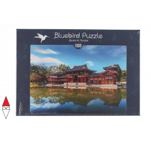 BLUEBIRD, , , PUZZLE EDIFICI BLUEBIRD PAGODE BYODO-IN TEMPLE 1000 PZ