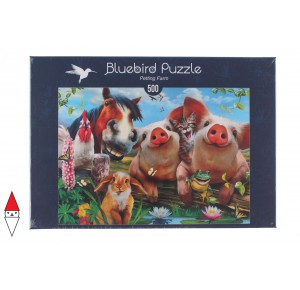 BLUEBIRD, , , PUZZLE ANIMALI BLUEBIRD ANIMALI VARI PETTING FARM 500 PZ