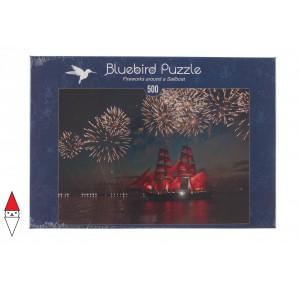 BLUEBIRD, , , PUZZLE MEZZI DI TRASPORTO BLUEBIRD BARCHE E NAVI 500 PZ