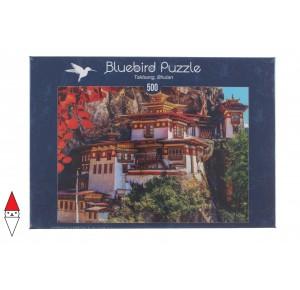 BLUEBIRD, , , PUZZLE EDIFICI BLUEBIRD PAGODE TAKTSANG, BHUTANEUR 500 PZ