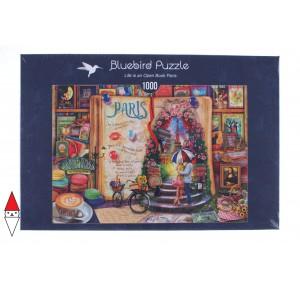 BLUEBIRD, , , PUZZLE TEMATICO BLUEBIRD CITTA LIFE IS AN OPEN BOOK PARIS 1000 PZ