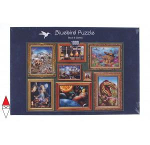 BLUEBIRD, , , PUZZLE TEMATICO BLUEBIRD GALLERIA BOYS 8 GALLERY 1000 PZ