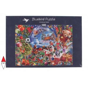 BLUEBIRD, , , PUZZLE TEMATICO BLUEBIRD NATALE CHRISTMAS GLOBE 1000 PZ