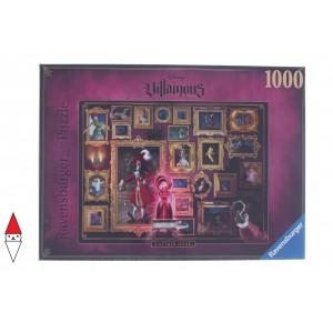 RAVENSBURGER, , , PUZZLE DISNEY RAVENSBURGER CARTONI ANIMATI VILLAINOUS CAPITAN HOOK 1000 PZ