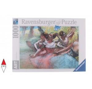 RAVENSBURGER, , , PUZZLE ARTE RAVENSBURGER DEGAS FOUR BALLERINAS ON THE STAGE 1000 PZ