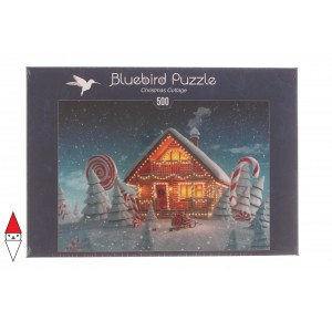 BLUEBIRD, , , PUZZLE TEMATICO BLUEBIRD NATALE CHRISTMAS COTTAGE 500 PZ