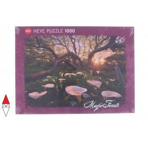 HEYE, , , PUZZLE PAESAGGI HEYE FORESTA MAGIC FORESTS CALLA CLEARING 1000 PZ