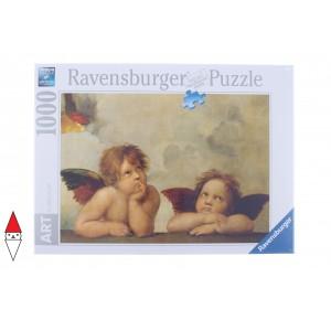 RAVENSBURGER, , , PUZZLE ARTE RAVENSBURGER RINASCIMENTO RAFFAELLO CHERUBINI 1000 PZ