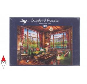 BLUEBIRD, , , PUZZLE TEMATICO BLUEBIRD INTERNI MOUNT CABIN VIEW 1000 PZ