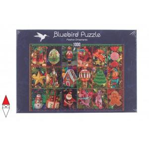 BLUEBIRD, , , PUZZLE TEMATICO BLUEBIRD NATALE FESTIVE ORNAMENTS 1000 PZ