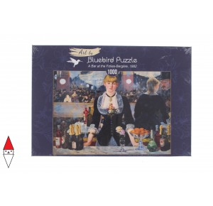 BLUEBIRD, , , PUZZLE ARTE BLUEBIRD EDOUARD MANET A BAR AT THE FOLIES-BERGERE 1882 60080