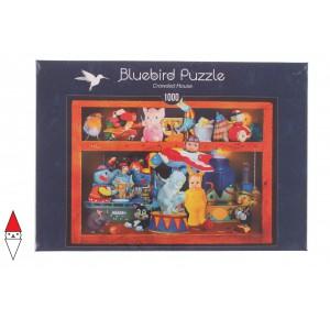 BLUEBIRD, , , PUZZLE OGGETTI BLUEBIRD GIOCATTOLI CROWDED HOUSE 1000 PZ