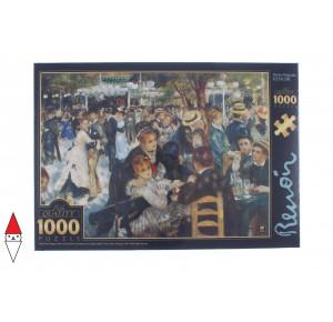 DTOYS, , , PUZZLE ARTE DTOYS RENOIR DANCE AT LE MOULIN DE LA GALETTE 1000 PZ