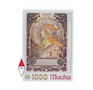 DTOYS, , , PUZZLE ARTE DTOYS PITTURA 1900 MUCHA ZODIAC 1000 PZ