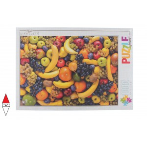 DTOYS, , , PUZZLE OGGETTI DTOYS ALIMENTI HIGH DIFFICULTY FOOD FRUITS 1000 PZ