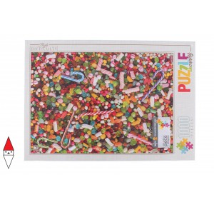 DTOYS, , , PUZZLE OGGETTI DTOYS ALIMENTI HIGH DIFFICULTY FOOD CANDIES 1000 PZ
