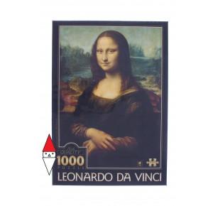 DTOYS, , , PUZZLE ARTE DTOYS RINASCIMENTO LEONARDO DA VINCI MONA LISA GIOCONDA 1000 PZ