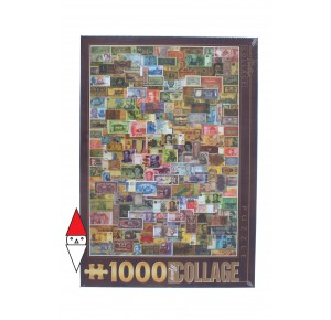 DTOYS, , , PUZZLE OGGETTI DTOYS COLLAGE BANKNOTES 1000 PZ