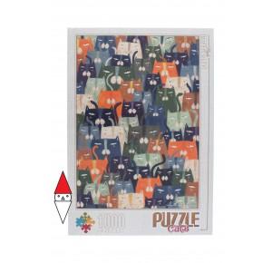 DTOYS, , , PUZZLE GRAFICA DTOYS GATTI CATS 1000 PZ