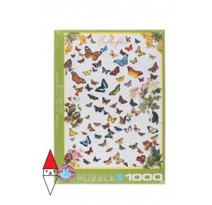 EUROGRAPHICS, , , PUZZLE ANIMALI EUROGRAPHICS FARFALLE BUTTERFLIES 1000 PZ