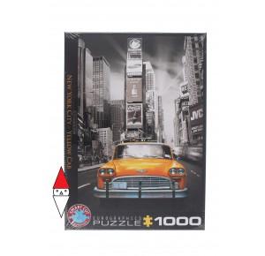 EUROGRAPHICS, , , PUZZLE PAESAGGI EUROGRAPHICS CITTA NEW YORK CITY YELLOW CAB 1000 PZ
