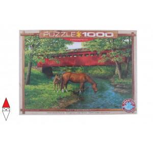 EUROGRAPHICS, , , PUZZLE ANIMALI EUROGRAPHICS SWEET WATER BRIDGE BY PERSIS CLAYTON WEIRS 1000 PZ