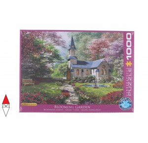 EUROGRAPHICS, , , PUZZLE EDIFICI EUROGRAPHICS CHIESE E CATTEDRALI BLOOMING GARDEN 1000 PZ