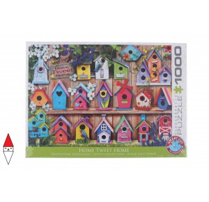 EUROGRAPHICS, , , PUZZLE OGGETTI EUROGRAPHICS UCCELLI HOME TWEET HOME 1000 PZ