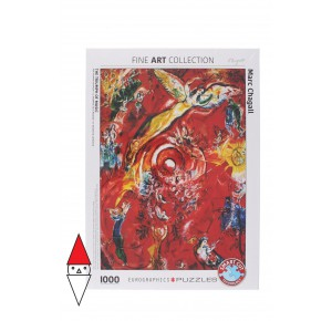 EUROGRAPHICS, , , PUZZLE ARTE EUROGRAPHICS PITTURA 1900 THE TRIUMPH OF MUSIC BY CHAGALL 1000 PZ