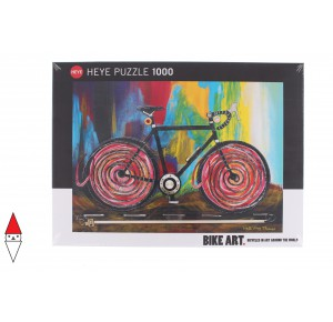 HEYE, , , PUZZLE GRAFICA HEYE BICICLETTE MOMENTUM BIKE ART 1000 PZ